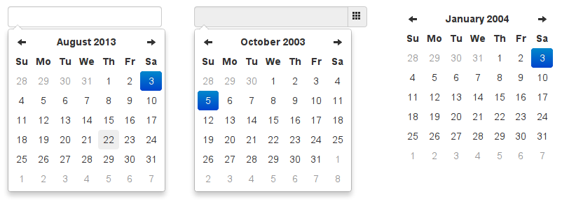 Bootstrap 4 multiple datepicker example