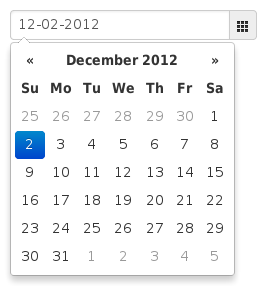 bootstrap datepicker date range example