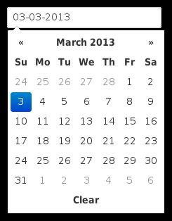 Datepicker thai year bootstrap input date